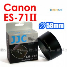 ES-71II - JJC Canon Lens Hood Shade for EF 50mm f/1.4 USM