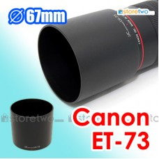 ET-73 - JJC Canon Lens Hood for EF 100mm f/2.8L Macro IS USM Non-IS