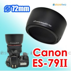 ES-79II - JJC Canon Lens Hood Shade for EF 85mm f/1.2L II USM Clip On