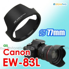 EW-83L - JJC Canon Tulip Lens Hood Shade for EF 24-70mm f/4L IS USM