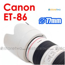 White ET-86 - JJC Canon Lens Hood Shade for EF 70-200mm f/2.8L IS USM
