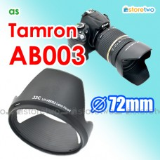 AB003 - JJC Tamron Lens Hood Shade for AF18-270mm AF17-50mm B003 B005