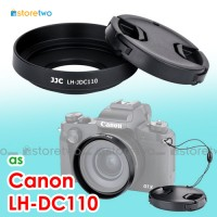 LH-DC110 - JJC Canon Lens Hood Lens Cap Keeper PowerShot G1 X Mark III