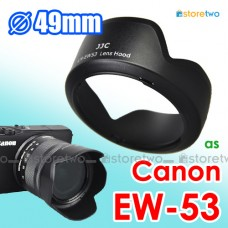 EW-53 - JJC Canon Lens Hood for EF-M 15-45mm f/3.5-6.3 IS STM EOS M