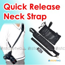 Quick Release Single Shoulder Sling Neck Strap Screw-in Plate Tripod