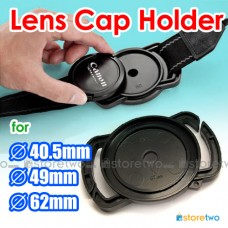 Camera Buckle Lens Cap Holder Keeper Strap Capbuckle 40.5mm 49mm 62mm