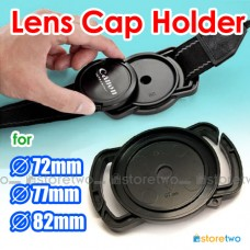 Camera Buckle Lens Cap Holder Keeper Strap Capbuckle 72mm 77mm 82mm