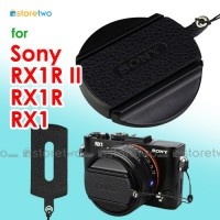 Sony RX1R II RX1 Nappa Leather Lens Cap Keeper Strap Self Adhesive