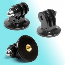 "GoPro Tripod Monopod Mount Adapter 1/4""-20 Hero 4 3+ 3 2 1 Lock Nut"