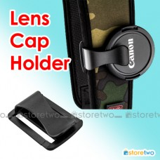 Camera Lens Cap U-Clip S-Clip Holder Keeper Strap All Sizes Universal