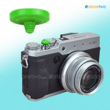 Green Soft Shutter Release Button JJC Brass FUJIFILM X100T Sony RX1S