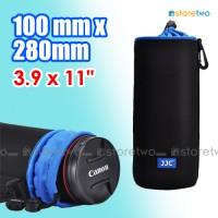 "NLP-28 Neoprene Lens Pouch Drawstring Belt Loop 3.9 x 11"" 100x280mm"