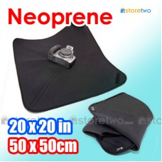 "Neoprene Wrap Velcro Cover 20x20"" 50x50cm for DSLR SLR Wimberley"