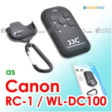 RC-6, RC-1 - JJC Canon Infrared IR Wireless Remote Control Carabiner