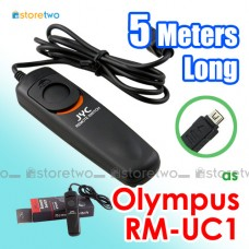 RM-UC1 JYC Olympus 5 Meters Remote Shutter Control Cord E-M10 PEN-F 1s
