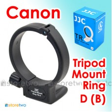 D (B) - JJC Canon Tripod Ring Collar Canon 100mm f/2.8L Macro IS USM