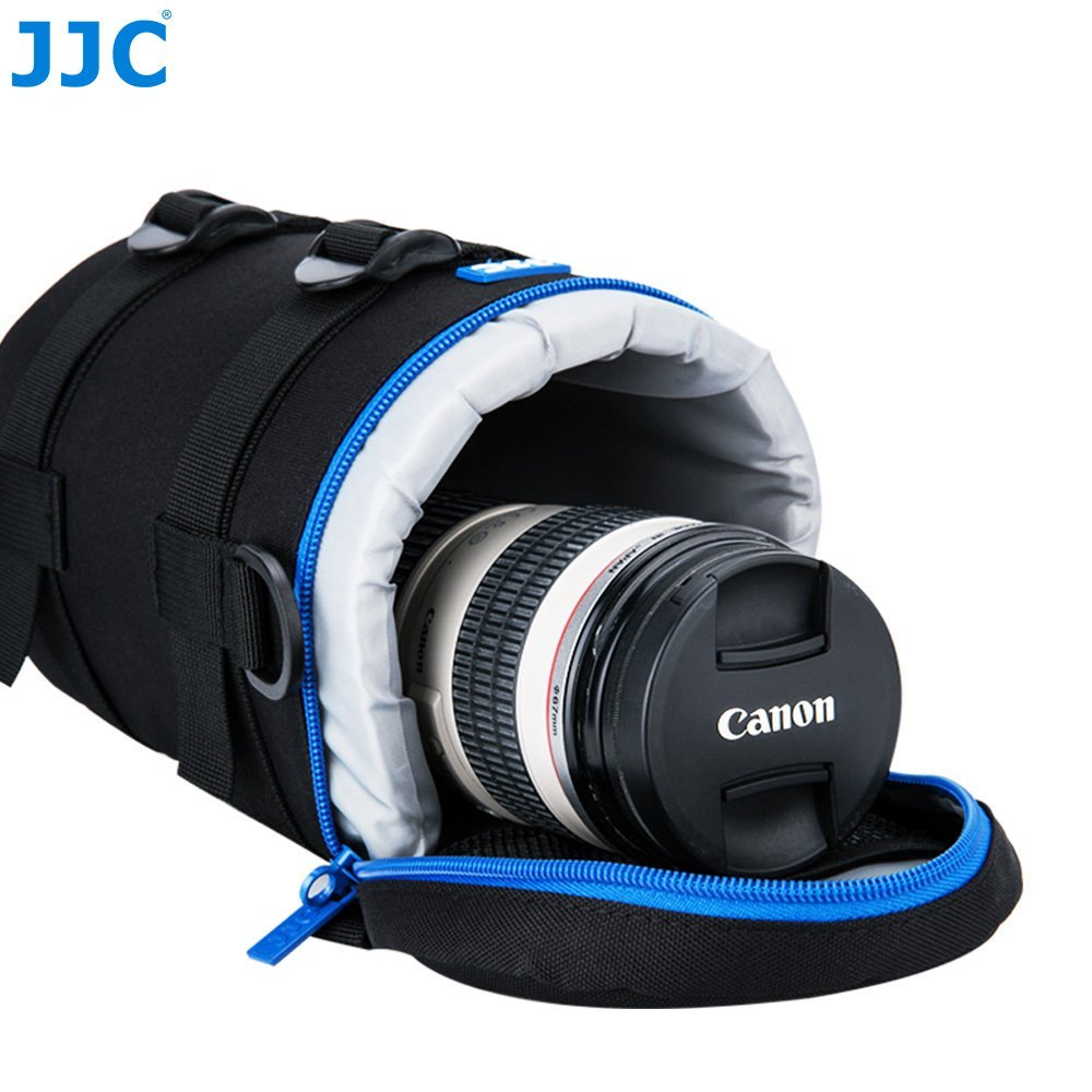 Camera Lens Pouch JJC DSLR Camera Lens Bag Case for Canon 100-400mm 70-200mm 180mm Nikon 80-200mm 70-200mm for Lens with 4.45x9.45 Water-resistant